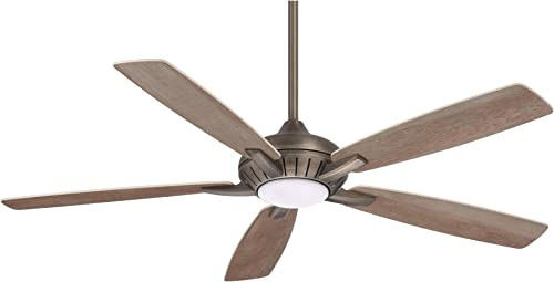 60″ Minka Aire Dyno XL Smart Fan Bronze LED Ceiling Fan