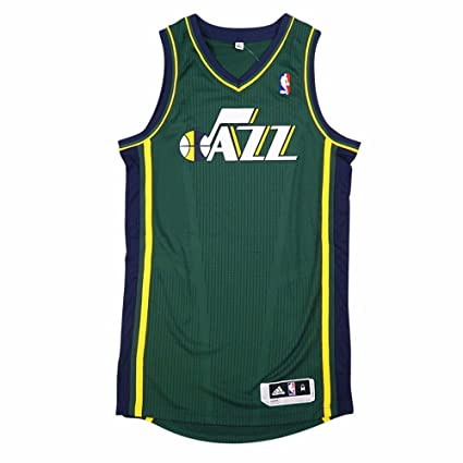 adidas Utah Jazz NBA Green Official Authentic On-Court Revolution 30 Alternate  Jersey for Men 920339a9f