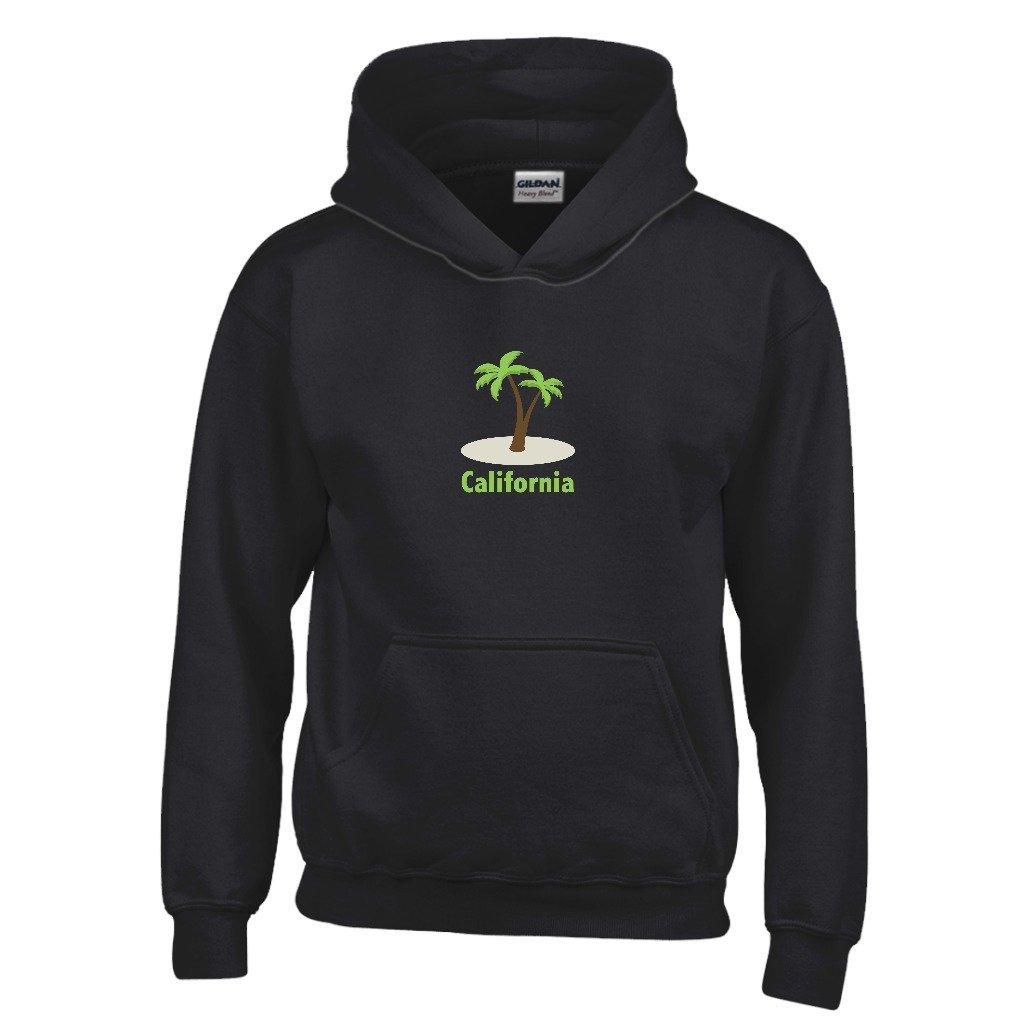 Kids Sweatshirt Tenn Street Goods California Palm Tree Youth Hoodie
