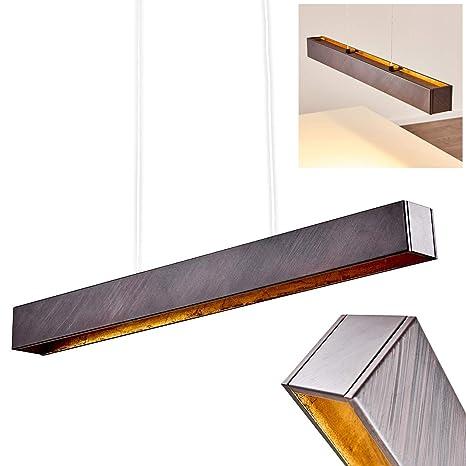 Lámpara colgante de metal LED para mesa de comedor, cocina y ...