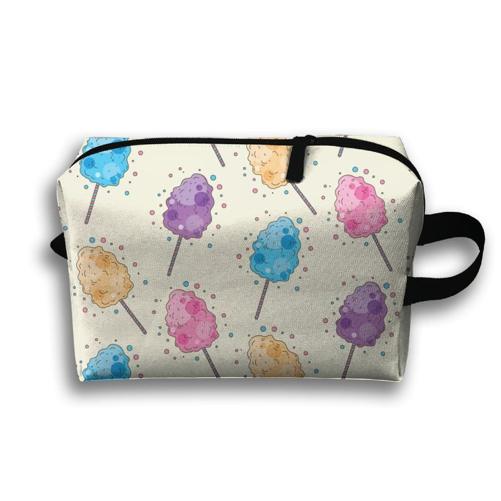 Cotton Candy Fashion Handy Multi Function Travel Organizers Bags Large Capacity Accessories Case Makeup Bags With Zipper Luggage Pouches