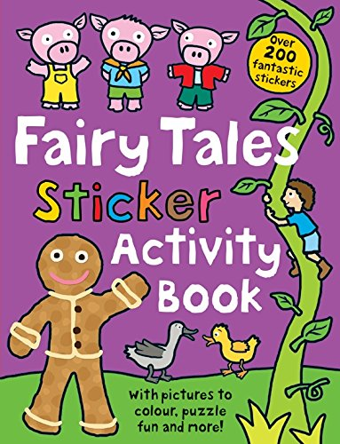 Fairy Tale Sticker Activity Book (Preschool Sticker Activity) PDF