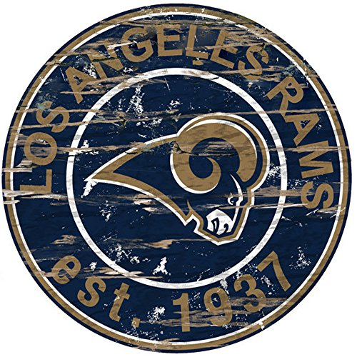 los-angeles-rams-nfl-team-logo-garage-home-office-room-24-inch-round-distressed-wood-sign-with-hange