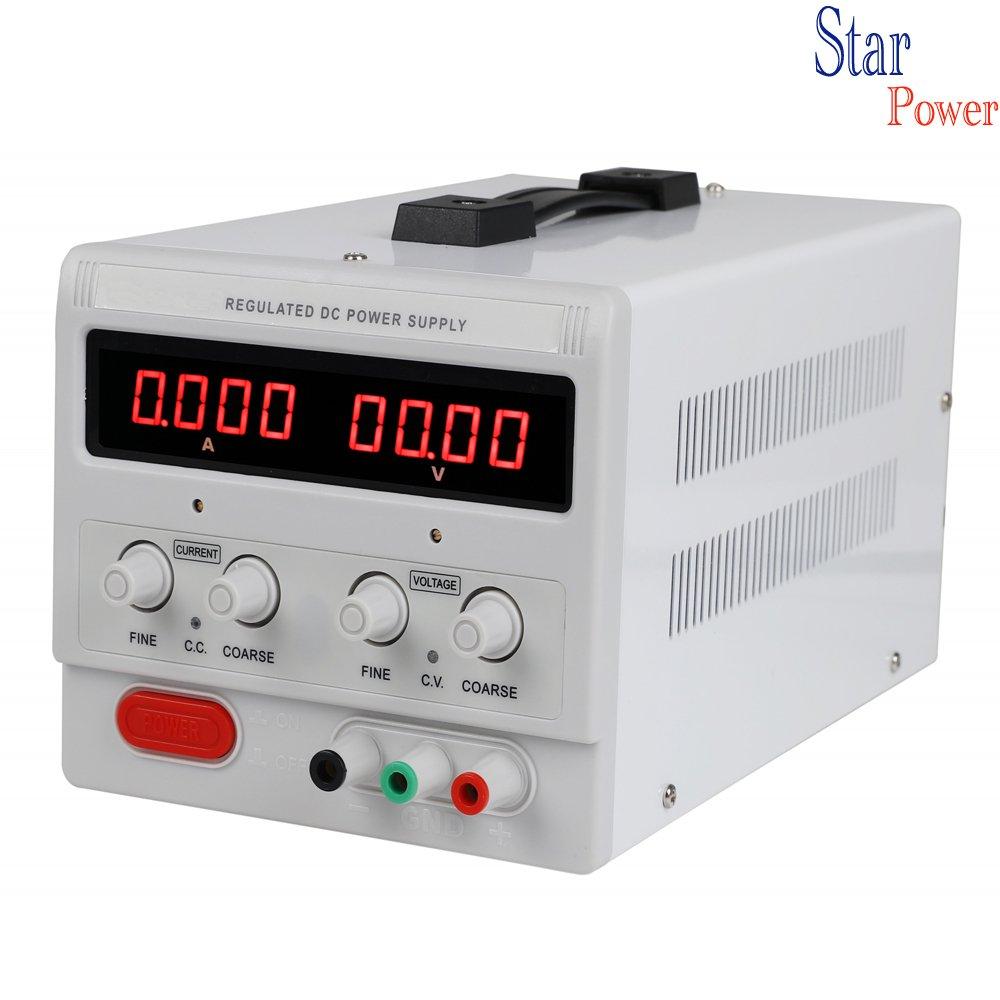 Precision 0-100V,0-3A Adjustable Switch Power Supply Digital Regulated Lab Grade