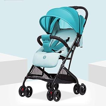 ZXUE Cochecito de bebé sentado puede acostarse Cochecito de bebé ...