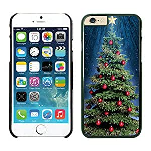 The Christmas Tree On Christmas Day Lovely Mobile Phone Protection Shell for iphone 6 Case-Unique Soft Edge Case(2015),Christmas tree iPhone 6 Case 32 Black