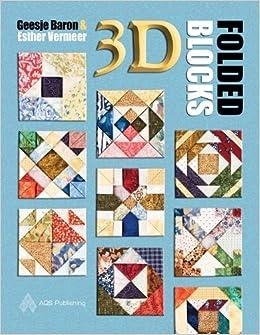 3D Folded Blocks: Baron, Vermeer: 9781574326642: Amazon com: Books