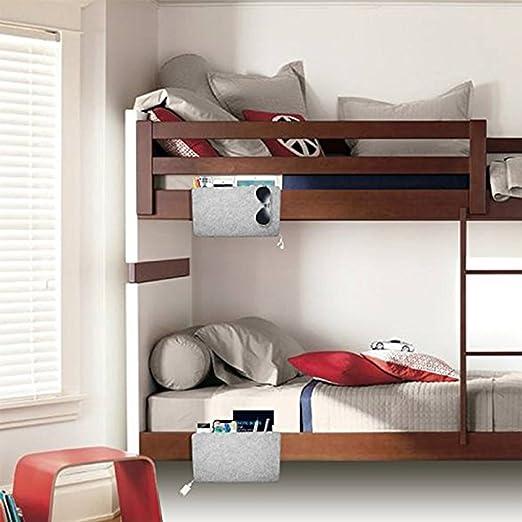 Gzq Bedside Storage Caddy Felt Home Sofa Desk Bed Pocket Organizer
