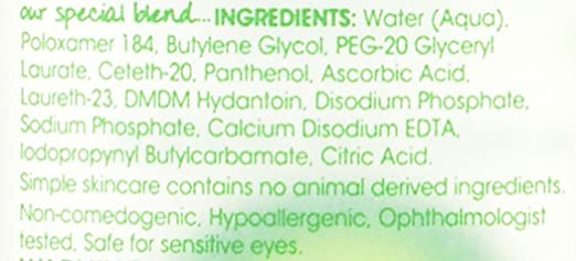 Amazon.com : Simple Kind to Eyes Eye Makeup Remover, Eye Makeup Remover, 4.2 oz : Eye Makeup Removers : Beauty