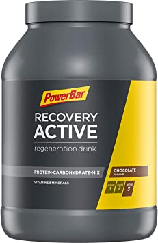 PowerBar Recovery Active Chocolate 1210g - Bebida de Suero de ...