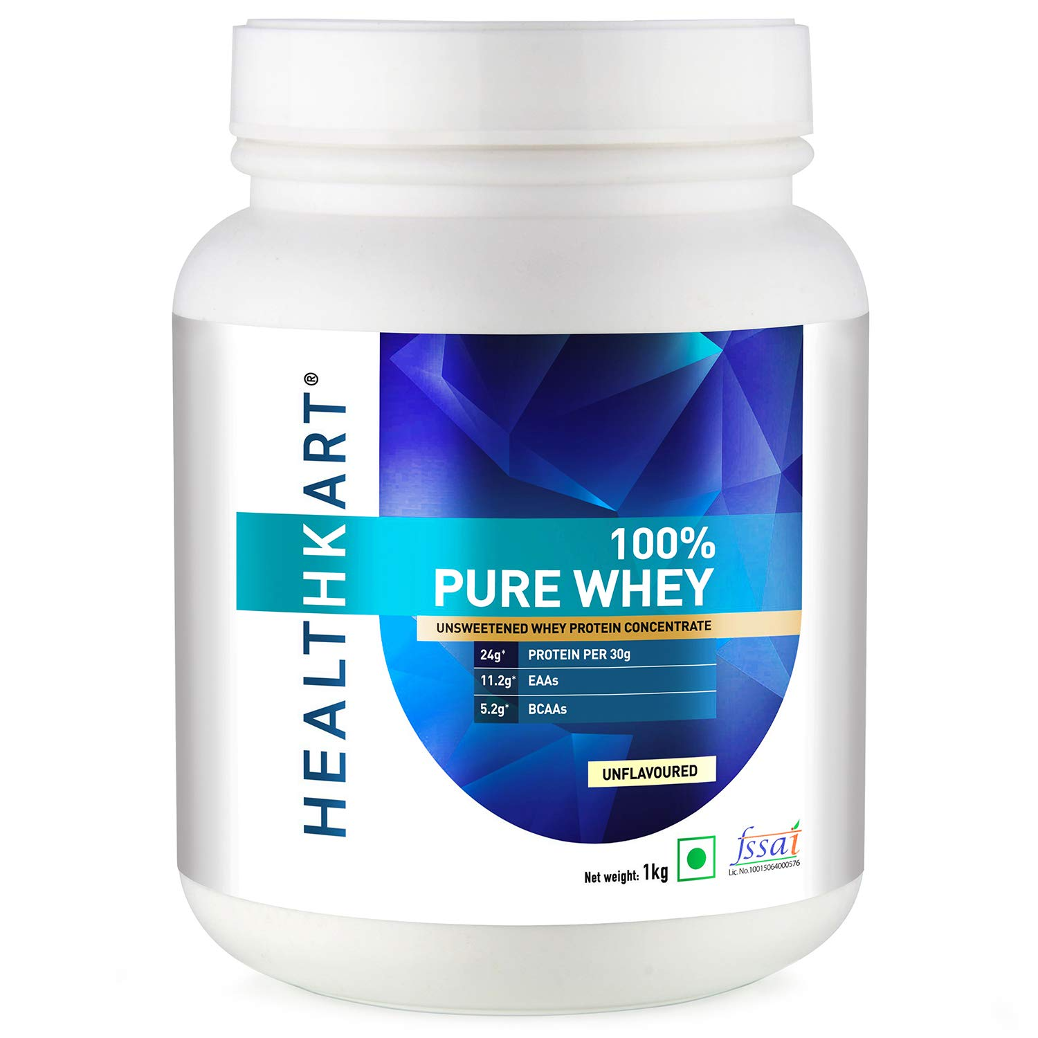 Healthkart 100 Pure Raw Whey Protein Concentrate 1 Kg 2 2 Lb Unflavoured Amazon In Health Personal Care