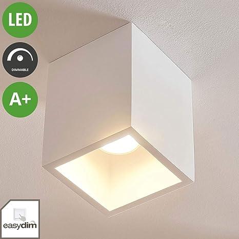 Lámpara de techo LED Natalie (Moderno) en Blanco hecho de ...