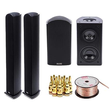 Pioneer Elite Dolby Atmos Enabled Andrew Jones Bookshelf Speakers Pair SPEBS73LR With 2x