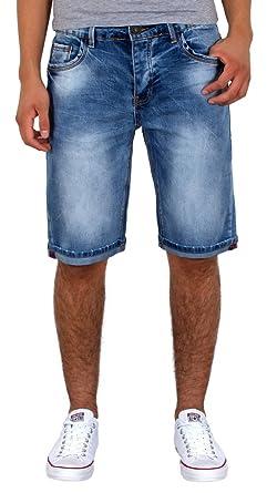 viele modisch Keine Verkaufssteuer bestbewerteter Beamter by-tex Herren Jeans Shorts Basic Jeans Shorts kurze Bermuda Shorts Used  Look kurze Hose A415