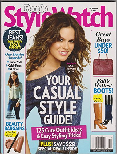 PEOPLE STYLE WATCH OCTOBER 2012 RACHEL BILSON PRISCILLA PRESLEY SISSY SPACEK PSW (People Style Watch)