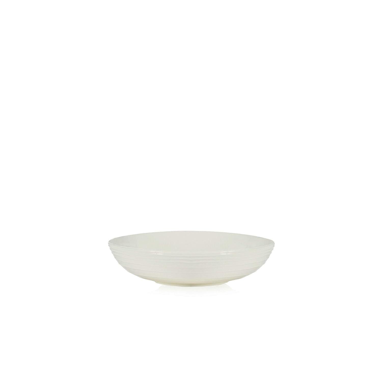 Debenhams Rjr.John Rocha Off White 'Wave' Textured Pasta Bowl