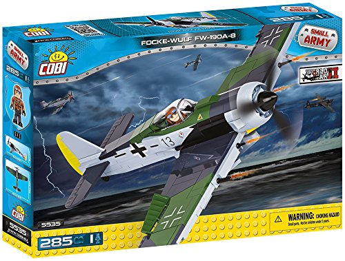 COBI Small Army Focke Wulf 190 A-8 Fighter Plane Building Kit