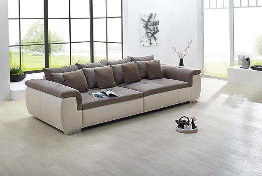 Big de sofá en Greige/marrón con acolchado, 4 grandes ...