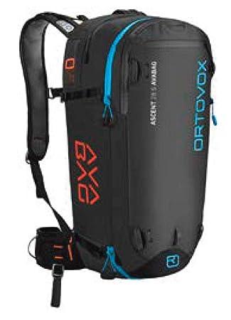 Ortovox Ascent 30 Avabag Kit Mochila, Unisex Adulto, Negro (Black Anthracite), 24x36x45 cm (W x H x L): Amazon.es: Deportes y aire libre