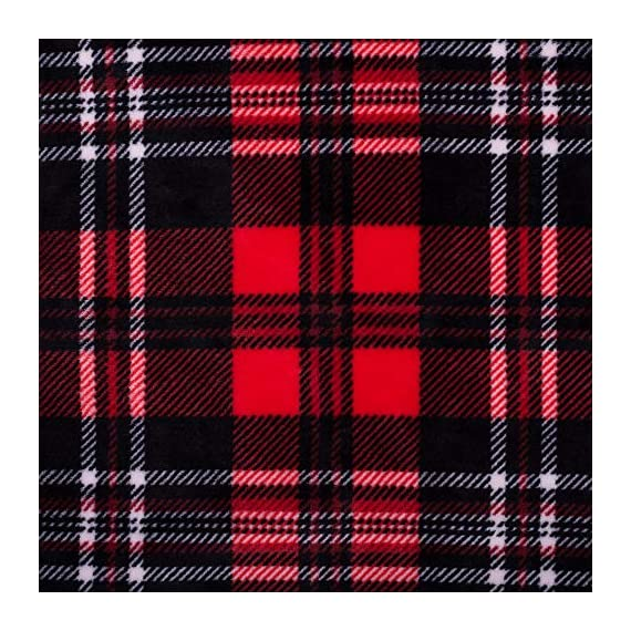 SOCHOW Flannel Fleece Blanket 50 × 60 Inches, All Season Plaid Red/Grey Blanket for Bed, Couch, Car - MATERIAL&DESIGN:These flannel blankets are 100% high-quality polyester fiber. The thick and thin lines are interspersed to emphasize the texture of the blankets, which are endowed with modern style without compromising comfort.They are extremely soft and warm with delicate package edge, rigorously designed with rigorous broad-brimmed pattern. Besides, they also feature seamless round edge, solid and beautiful. EASY CARE: - Machine washable under 30 degrees -Easy to store, -Wrinkle-resistant -High color fastness &No hair off. MULTI FUNCTIONS:Suitable use for couch, chair, car, bed or on the floor. It's also easy to take to outdoors. - blankets-throws, bedroom-sheets-comforters, bedroom - 61lfIeY3EHL. SS570  -