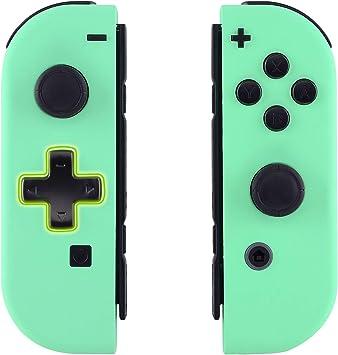 eXtremeRate Carcasa Joy-con Botones Completos D-Pad para Nintendo ...