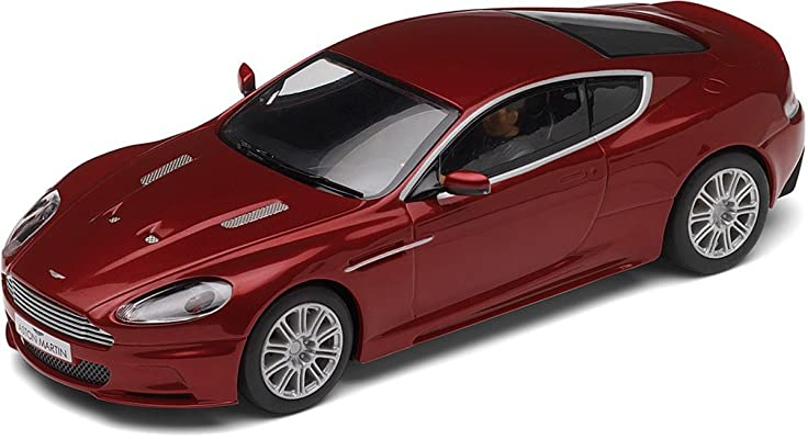 Amazon Com Scalextric C2994 Aston Martin Dbs Red Toys Games