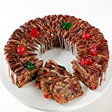 Sliced DeLuxe Fruitcake 4 lbs. 14 oz. Collin Street Bakery