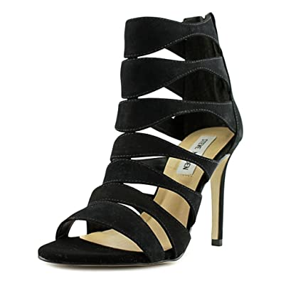 450ff370cc9 Steve Madden Womens Swyndlee Leather Open Toe Casual Strappy Sandals ...