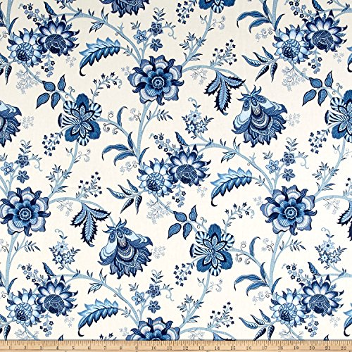 WAVERLY Island Gem Porcelain Duck Fabric by The Yard
