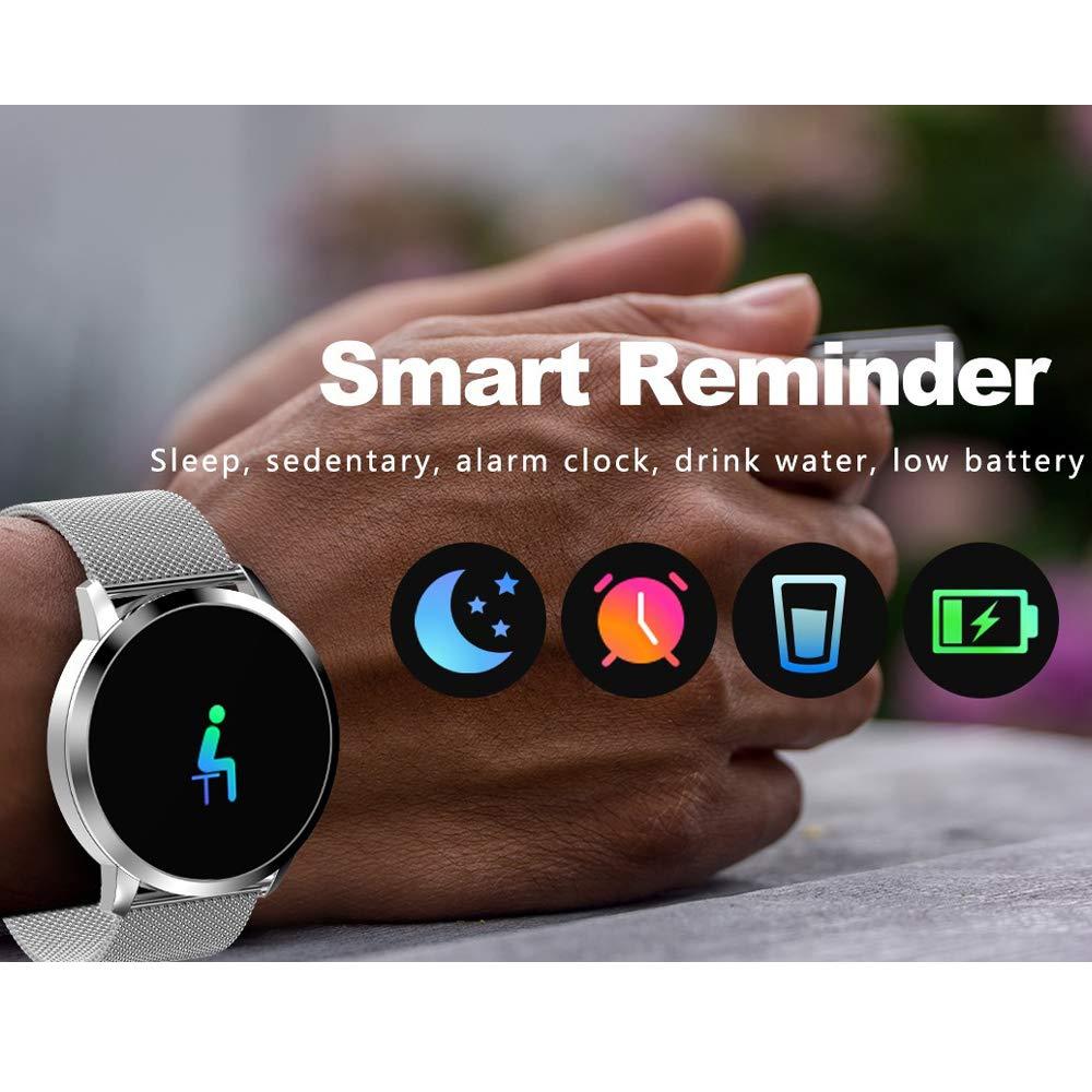Pulsera Actividad Inteligente full OLED táctil Reloj Podometro ...