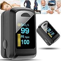 Indispensable en Casa Dedo de pulso Pantalla digital LED Nivel de oxígeno y pulso
