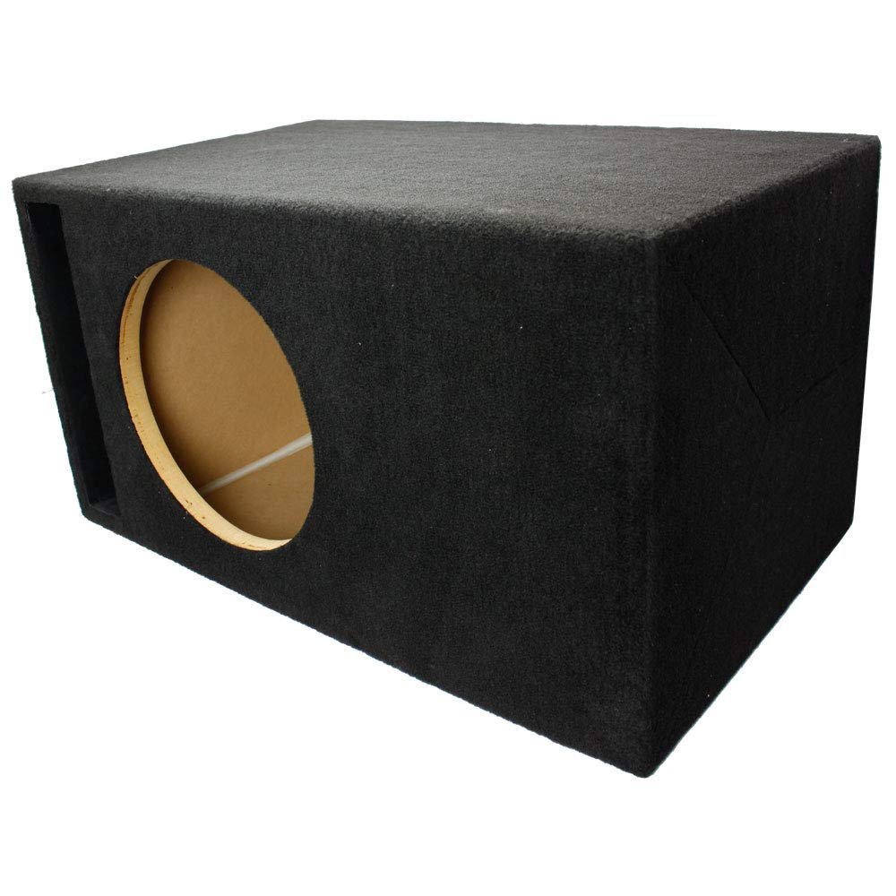 LAB SlapBox 2.65 ft³ Ported/Vented MDF Sub Woofer Enclosure Box for Single Orion 12'' HCCA (HCCA12) Car Subwoofer | ¾ Premium MDF with 1'' MDF Front Baffle | Made in U.S.A.