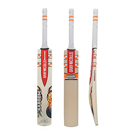 eb7d534dbc0 Image Unavailable. Image not available for. Colour: Gray Nicolls  Kaboom-Academy English-Willow Cricket Bat, Short Handle