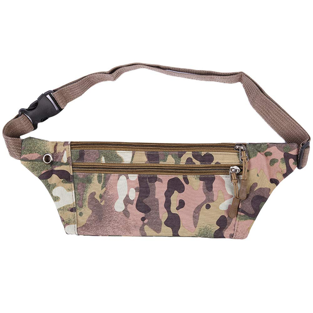 Fanny Pack Outdoor Travel Anti-water Pocket Running Bicycle Sports Cell Phone Waist Bag New Fanny Pack Bag