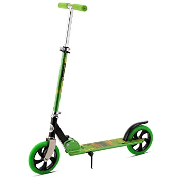 busyall altura ajustable patinete para adultos fácil plegable ligero (peso hasta Empuje patinete de cercanías