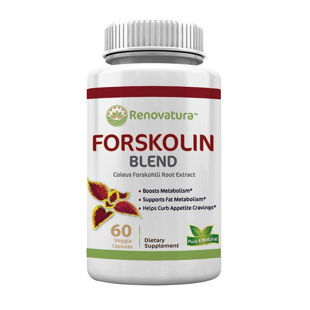 Amazon.com: Mezcla de Forskolin puro 0.009 oz, 60 cá ...
