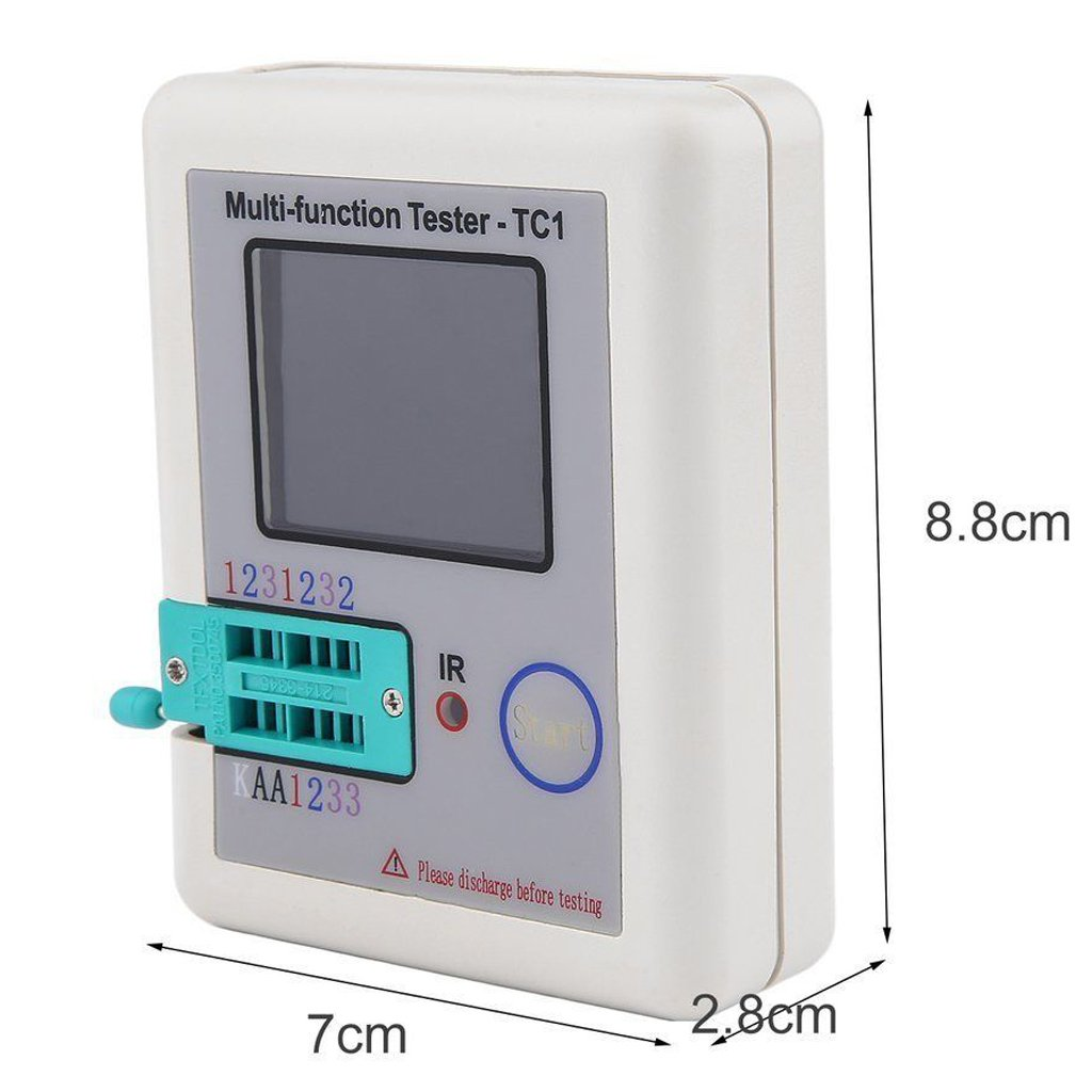 Baosity LCR ESR Tester Transistor Inductance Capacitance Resistance Meter LCR TC1 by Baosity (Image #8)
