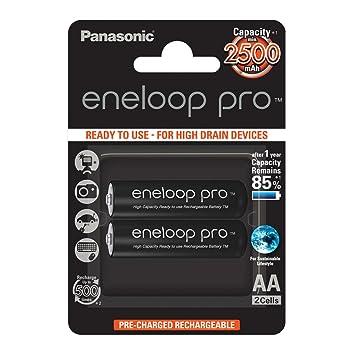Panasonic Eneloop SY3057178 -Pack 2 Pilas Recargables, AA