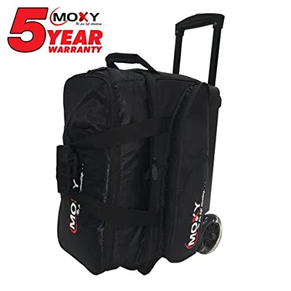 Image Unavailable. Image not available for. Color  Moxy Bowling Products Blade  Premium Double Roller Bowling Bag- Black e38d53ac5a