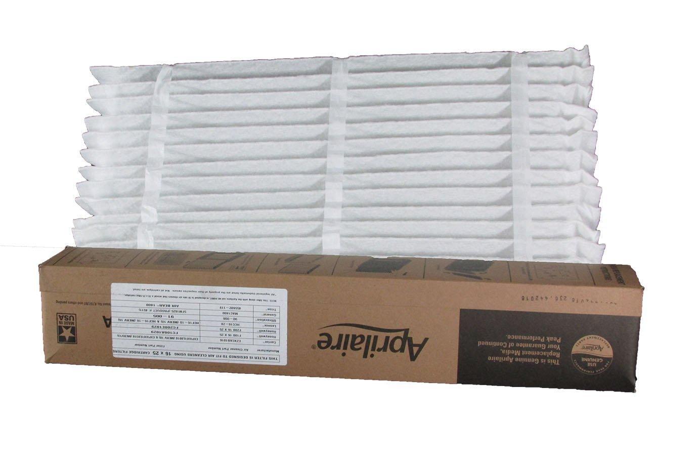 Nordic Pure 12x18x1 Exact MERV 13 Tru Mini Pleat AC Furnace Air Filters 6 Pack