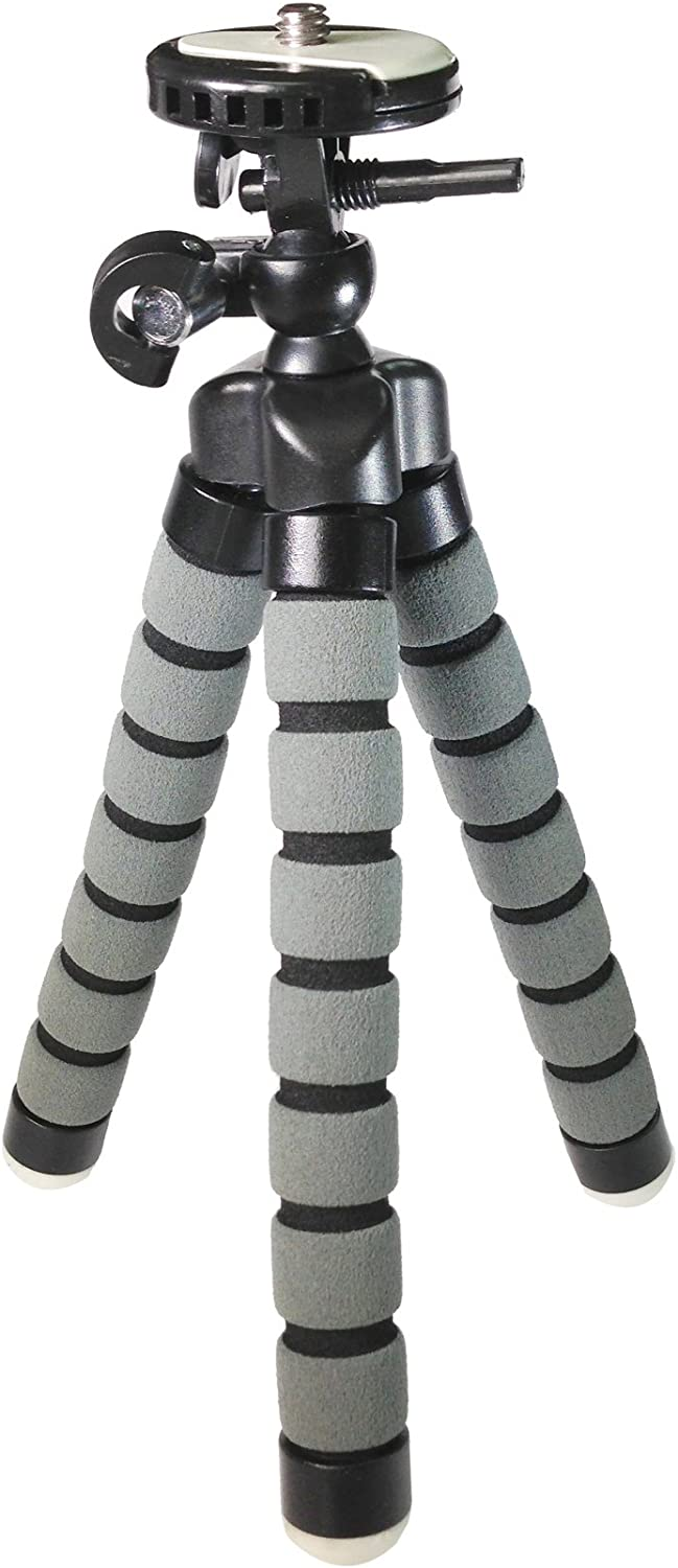 Approx 9 H Samsung SC-D457 Digital Camera Tripod Flexible Small Tripod for Compact Digital Cameras and Camcorders