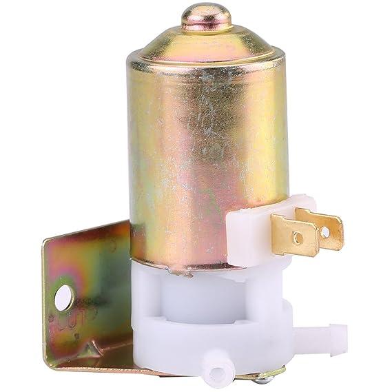Qiilu Universal 12V Bomba de limpiaparabrisas Limpiador del parabrisas de coche: Amazon.es: Electrónica