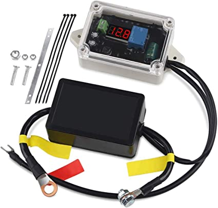 Dual Battery Isolator Relay 12V 200A Vehicle Automotive Battery Management Kit