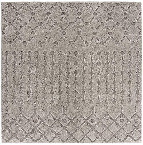 Safavieh Sparta Shag Collection SPG509A Grey Area Rug (6'7