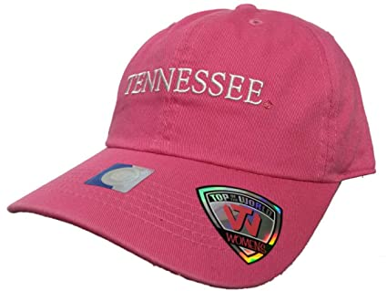 more photos 8e0f0 02e5a Image Unavailable. Image not available for. Color  Top of the World  Tennessee Volunteers Tow Women Pink Seaside Adjustable Slouch Hat Cap