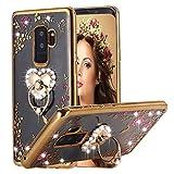 Galaxy S9 Plus Case Ring Holder, Miniko(TM) Soft...