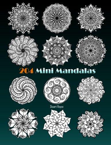 Amazon.com: 204 Mini Mandalas (9781533101853): Stuart Royce ...