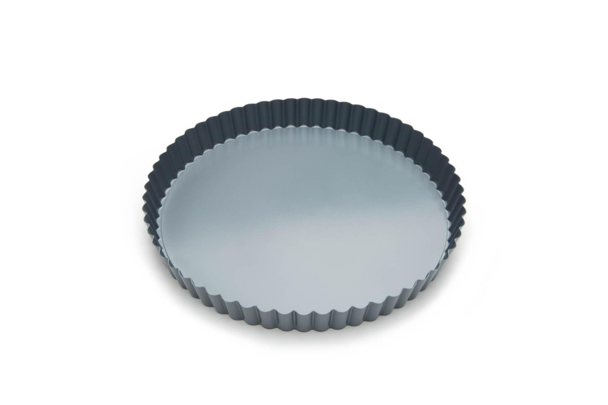 Fox Run 44513 Round Loose Bottom Quiche Pan, 9-Inch, Preferred Non-Stick