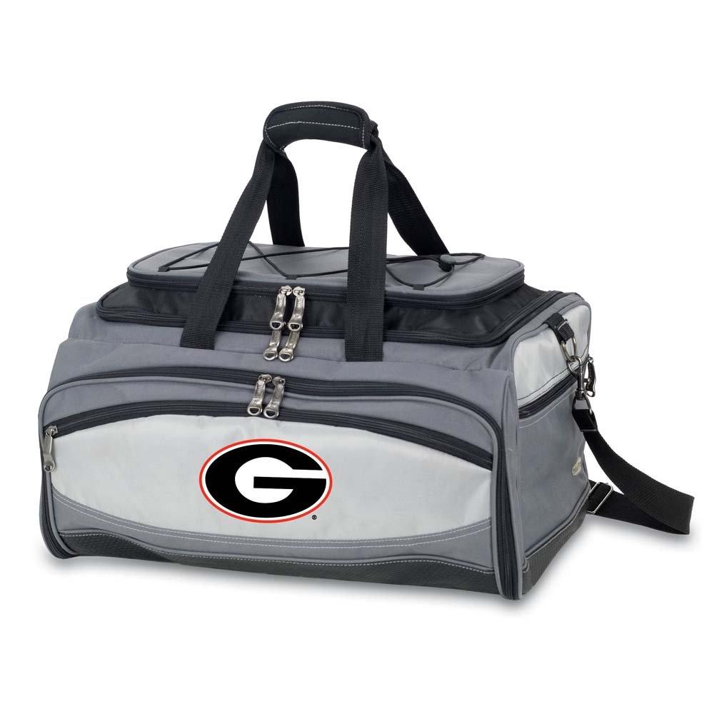 NCAA Georgia Bulldogs Buccaneer刺繍セット、ワンサイズ、ブラック