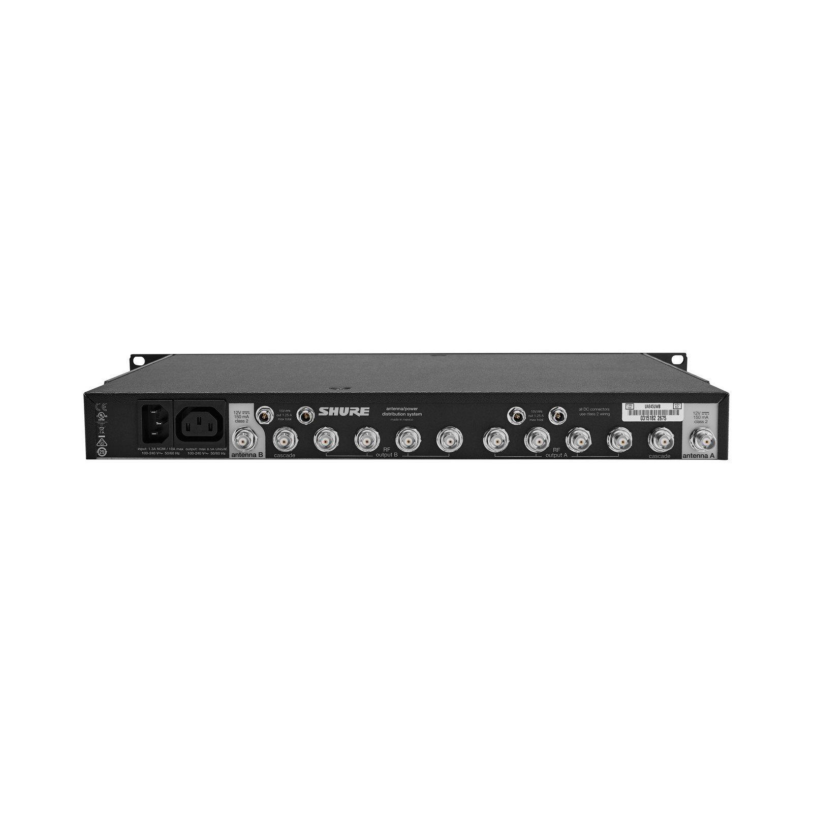 Shure UA845-UWB | Five Way Active Antenna Splitter Power Distributor by Shure (Image #1)